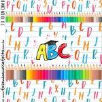 Adesivo Bala Personalizada Formatura ABC