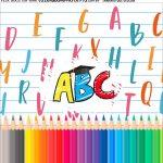 Adesivo Formatura ABC