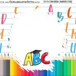 Adesivo Marmitinha Personalizada Formatura ABC