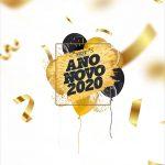 Adesivo Para Imprimir Ano Novo 2020
