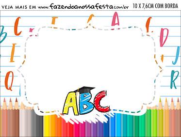Aviso para Comida Formatura ABC