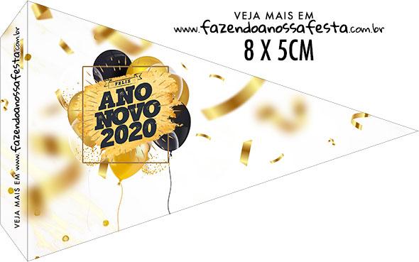 Bandeirinha Sanduiche para imprimir Ano Novo 2020