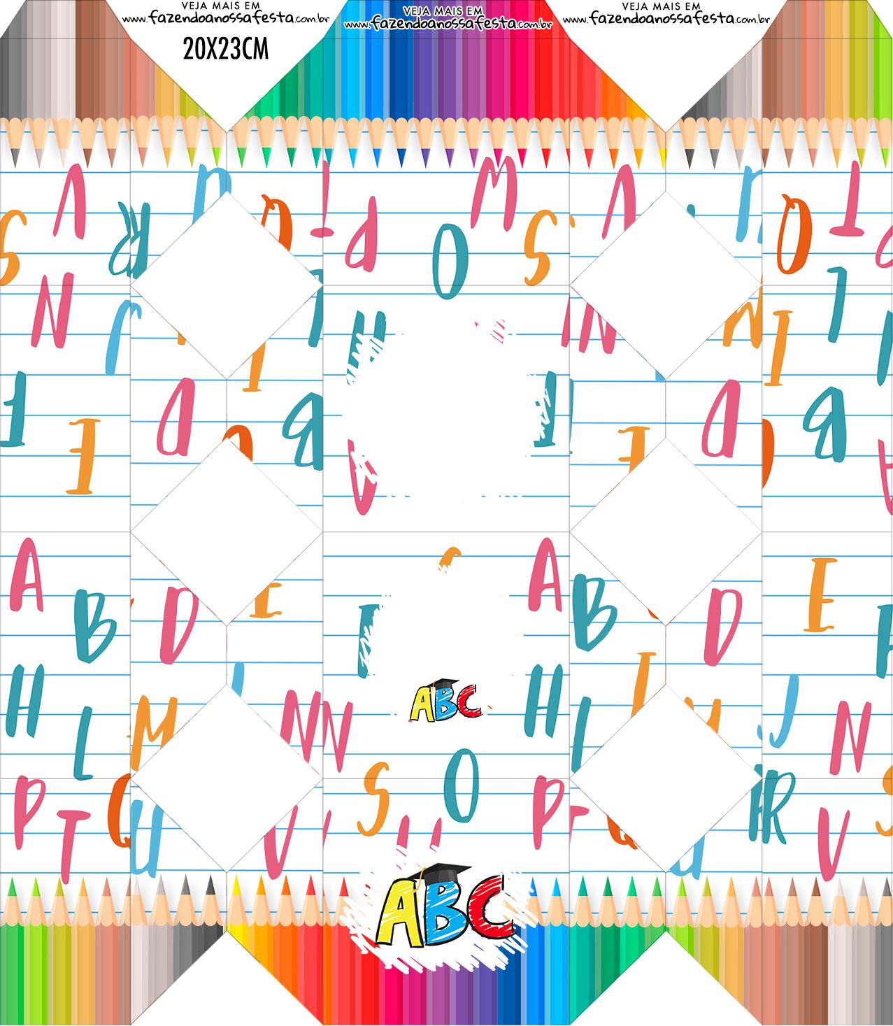 Caixa Bala Formatura ABC