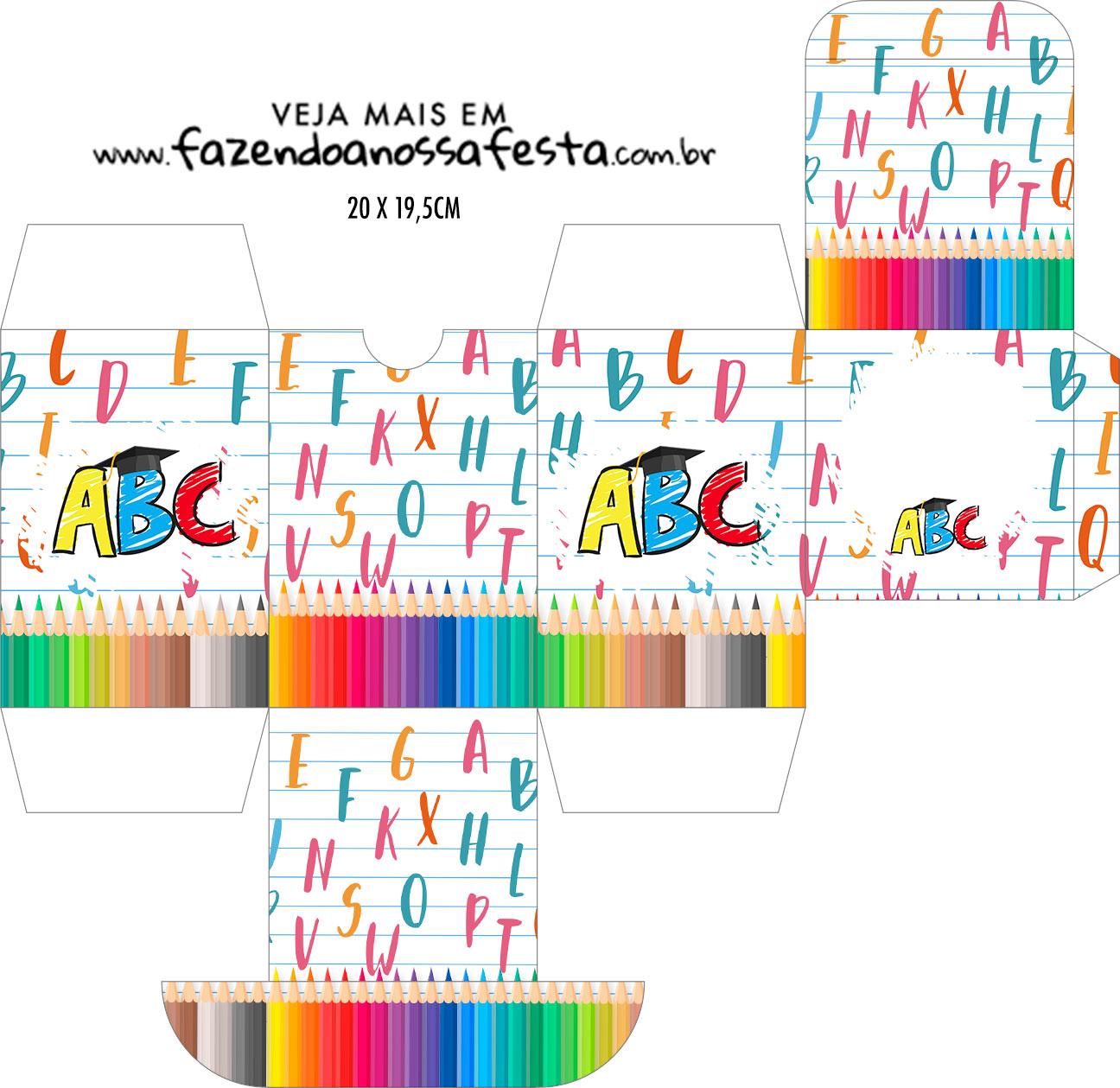 Caixa Baleiro Formatura ABC
