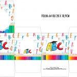 Caixa Cubo Formatura ABC