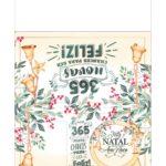 Calendario 2021 com bolinha de Natal