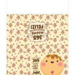 Calendario de Mesa 2021 Natal biscoito