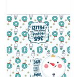 Calendario de Mesa 2021 Natal boneco de neve