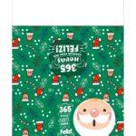 Calendario de Mesa 2021 Natal papai noel verde