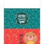 Calendario de Mesa 2021 Natal vermelho e verde