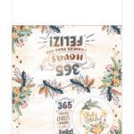 Calendario de Mesa Natal 2021 dourado 222