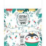 Calendario de Mesa Natal 2021 pinguim 22