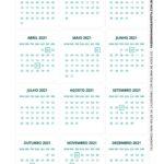 Calendario de Mesa Natal 2021 pinguim 3