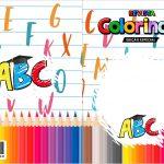 Capa Livrinho para Colorir Formatura ABC