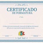 Certificado Formatura ABC