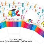 Chachepot centro de mesa Formatura ABC