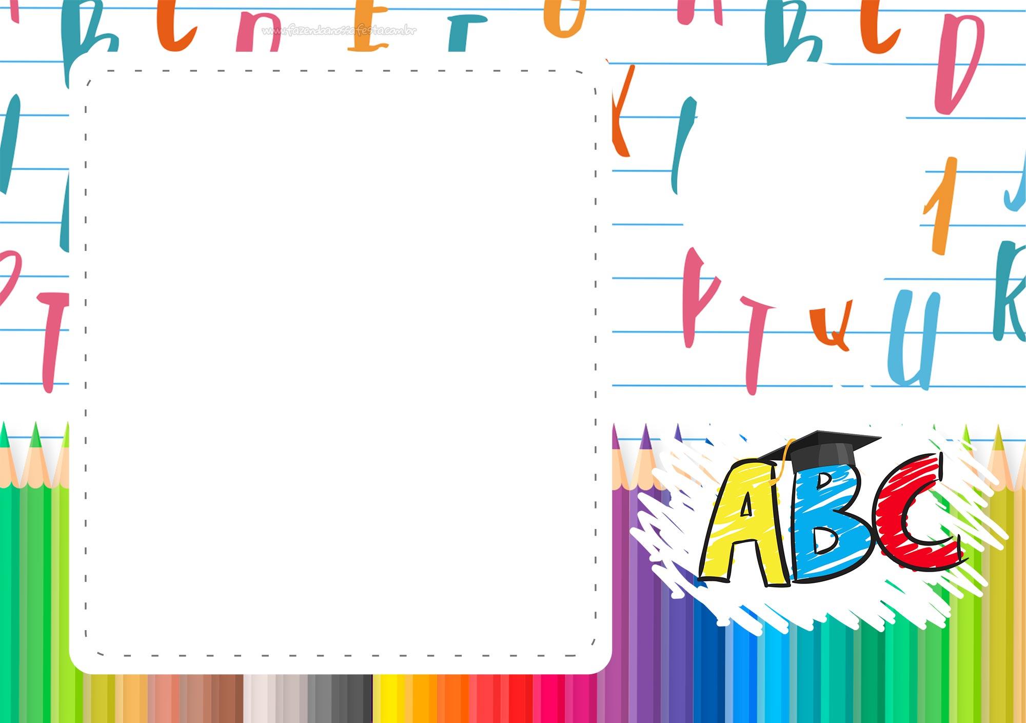 Convite ABC gratis
