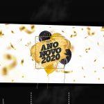 Convite Chalkboard Personalizado Ano Novo 2020