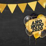 Convite Chalkboard Ano Novo 2020 5