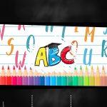 Convite Chalkboard Formatura ABC