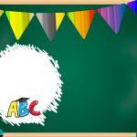 Convite Chalkboard Formatura Infantil 4