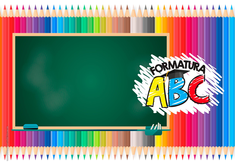 Convite Formatura ABC gratis
