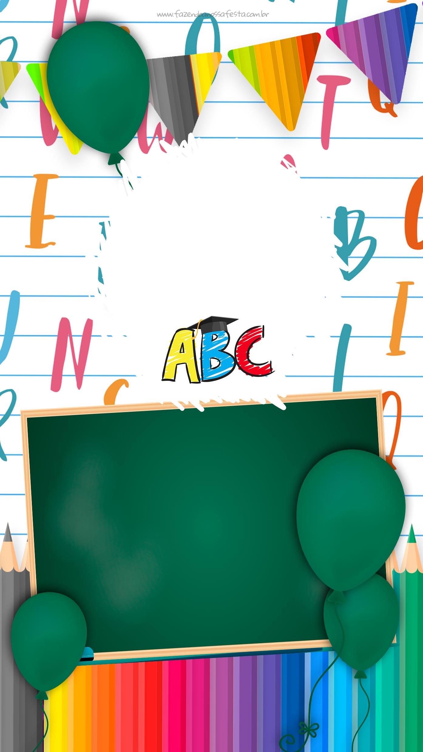 Convite Virtual Formatura do ABC