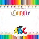 Convite para formatura do ABC 1