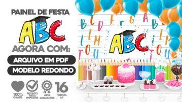 Painel Festa Formatura ABC