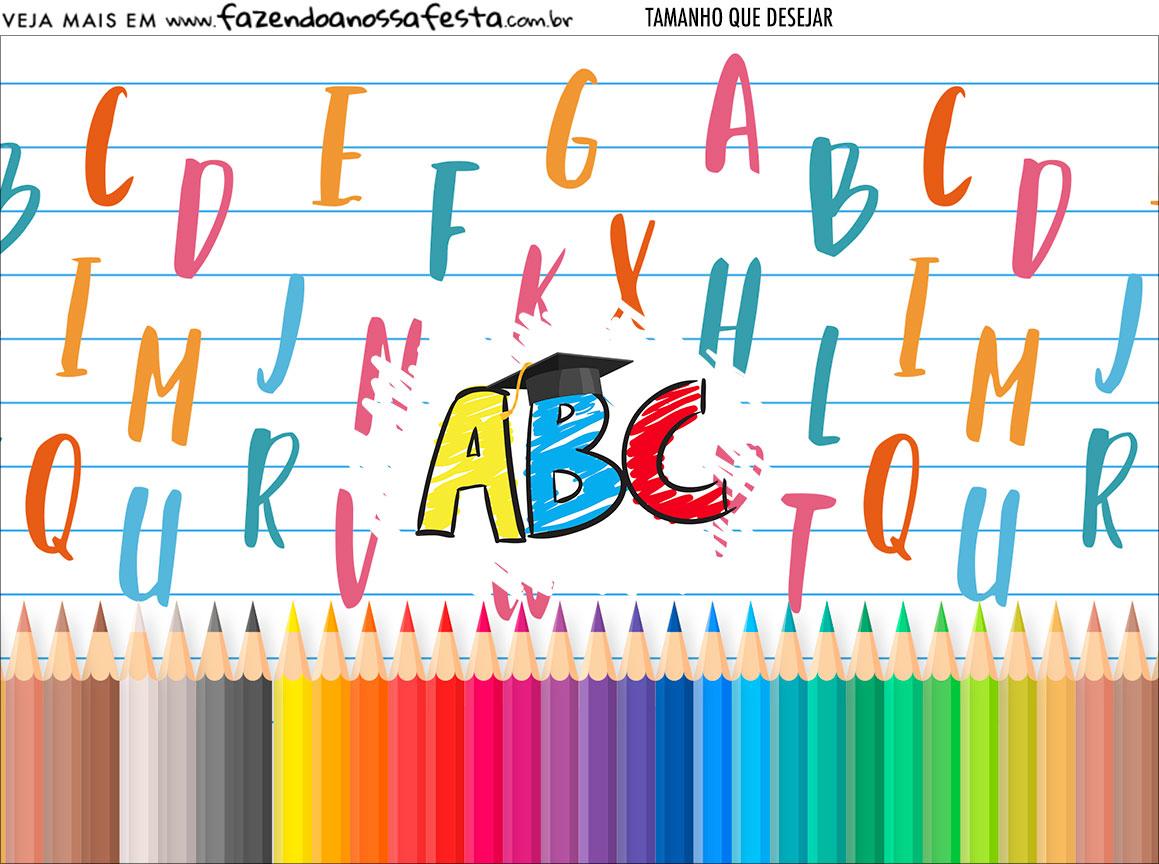 Personalizado Formatura ABC