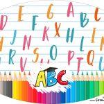 Placa Elipse Formatura ABC