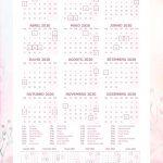 Planner 2020 Corujinha calendario