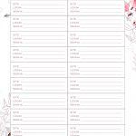 Planner 2020 Floral senhas e acessos
