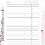 Planner 2020 Paris series