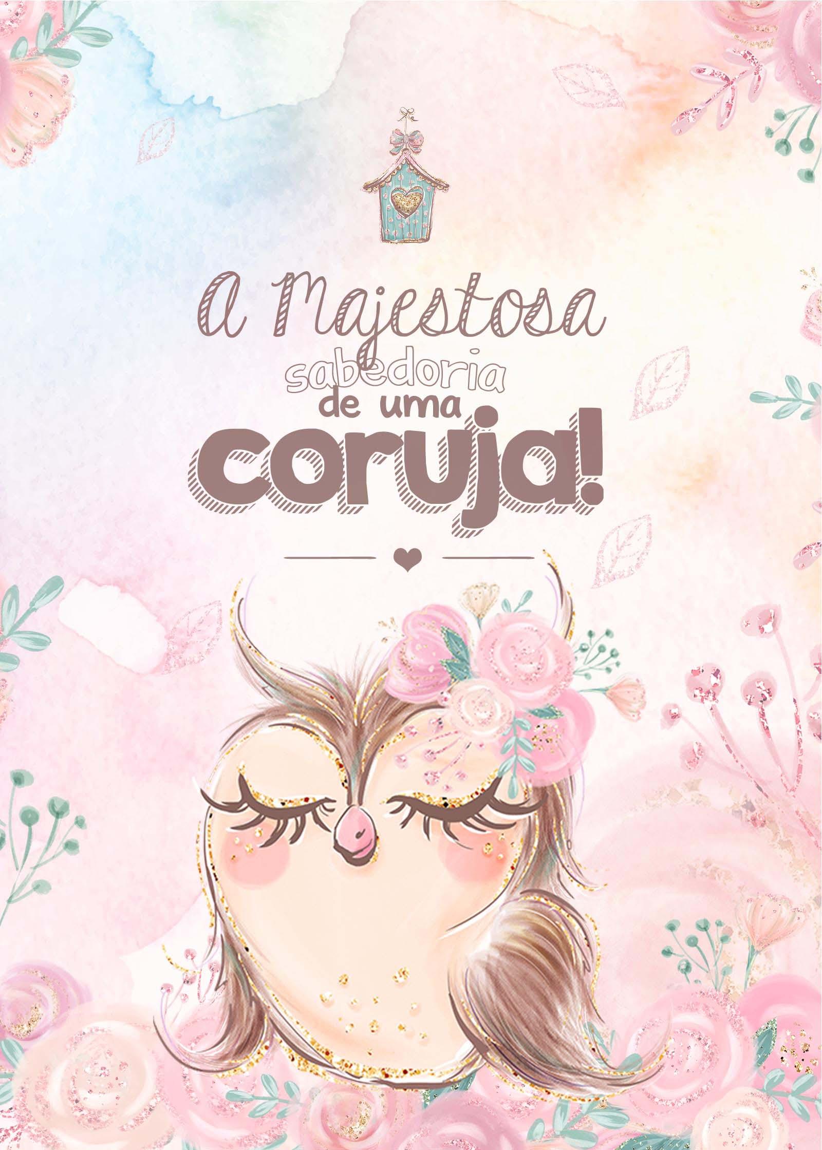 Planner Corujinha Capa