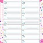 Planner Cupcake senhas e acessos