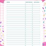 Planner Cupcake series