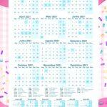 Planner Cupcakes Calendario 2021