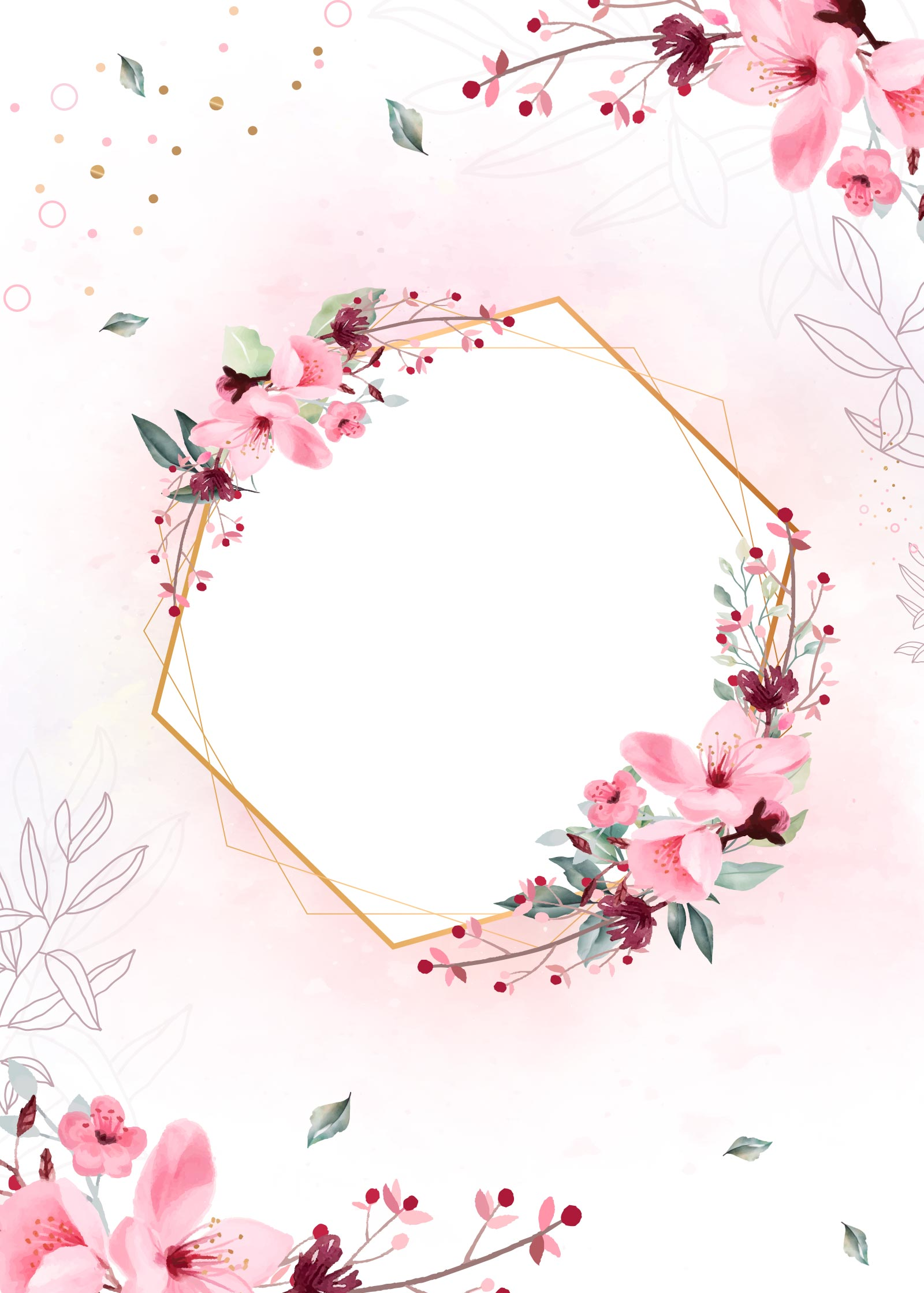 Planner Floral capa