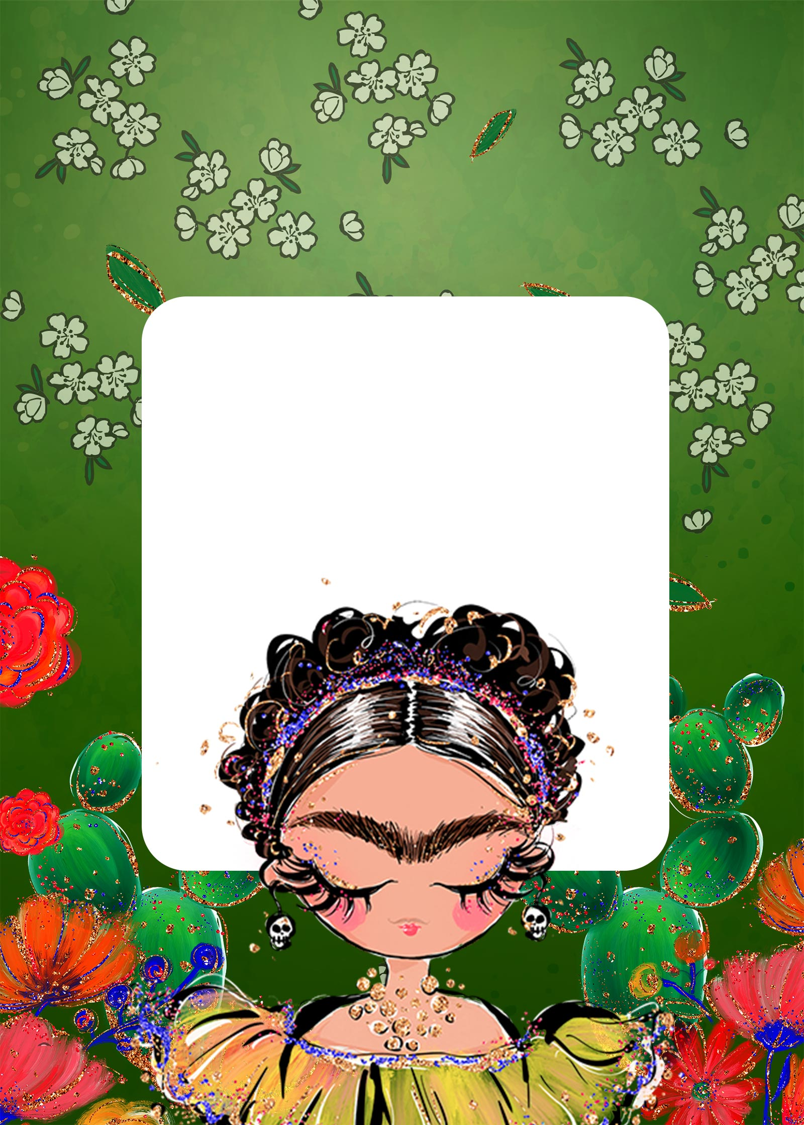 Planner Frida Kahlo contracapa