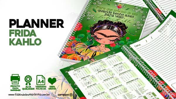 Planner Frida Kahlo gratis
