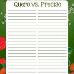 Planner Frida Kahlo quero vs preciso