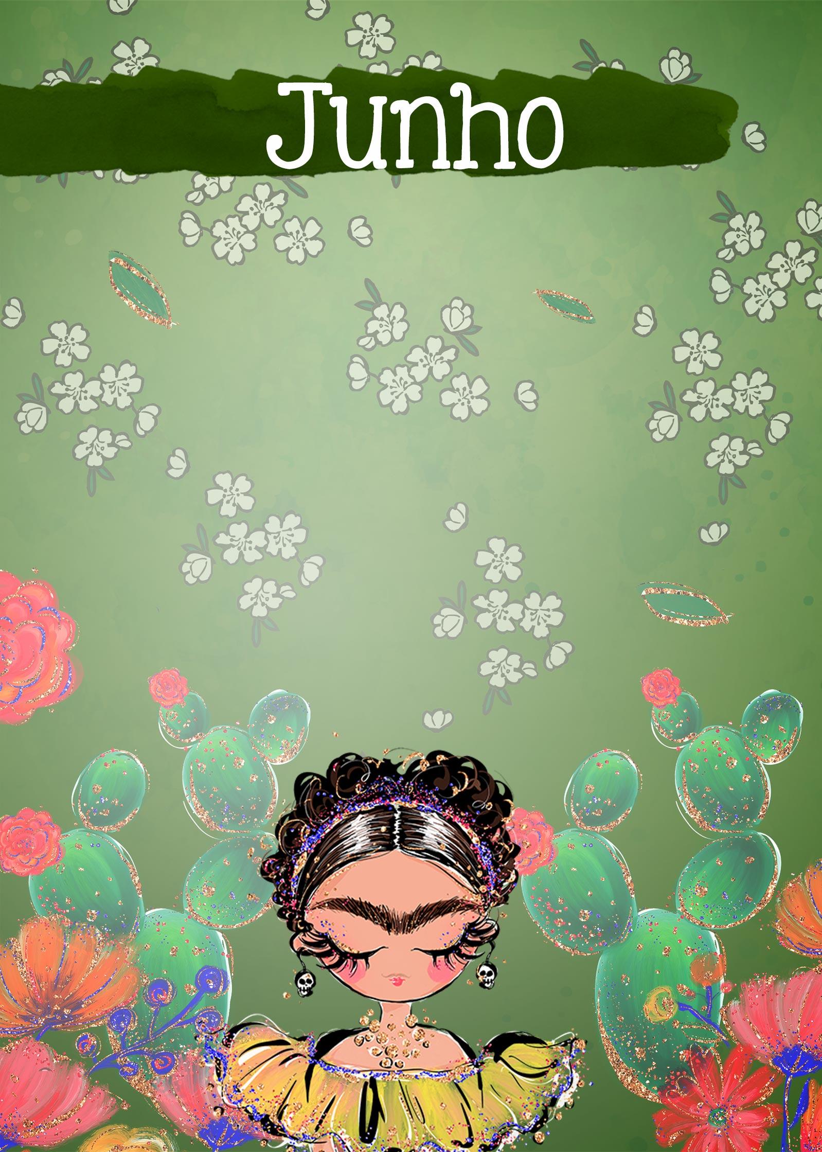 Planner Frida capa junho