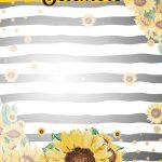 Planner Girassol capa setembro