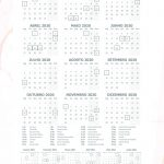 Planner Marmore calendario 2020