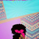 Planner Mulher Afro Capa Fevereiro