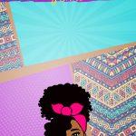 Planner Mulher Afro Capa Junho