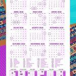 Planner Mulher Afro calendario 2020