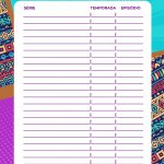 Planner Mulher Afro series