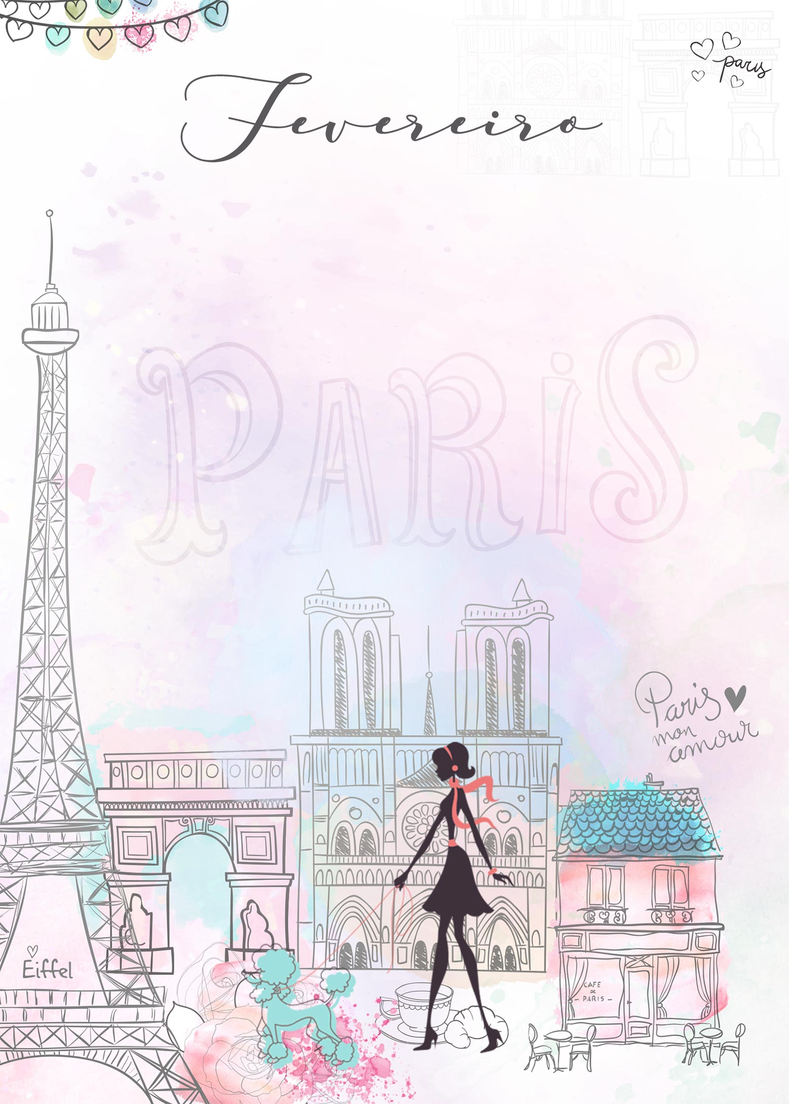 Planner Paris capa fevereiro